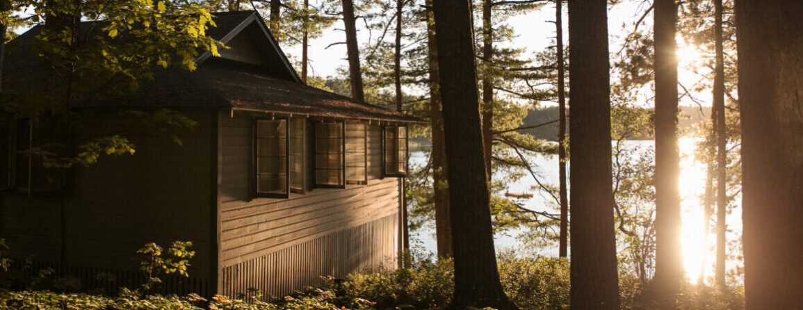 Sunset Cabin on Papoose Pond
